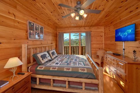 2 Bedroom Condo with King Bed and Flat Screen TV - Bears and Beyond