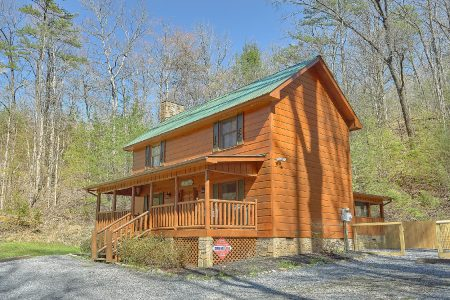 Bear Paw Bridge: 2 Bedroom Gatlinburg Cabin Rental