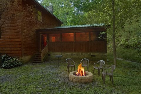2 Bedroom Private Cabin with Fire Pit - Bear's Lair