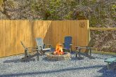 Smoky Mountain 2 Bedroom Cabin with Fire Pit