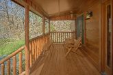 Smoky Mountain 2 Bedroom Cabin with Wooded View