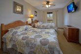 Large Bedroom with 2 Queen Beds Sleep 6