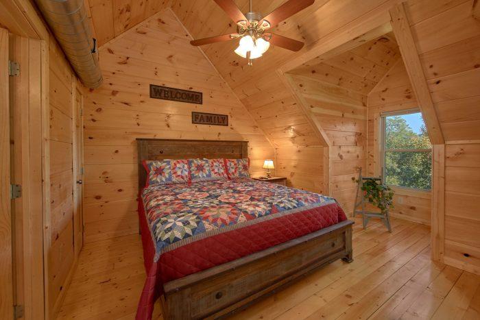 5 Bedroom Cabin with 4 Master Suites - Big Mack Lodge