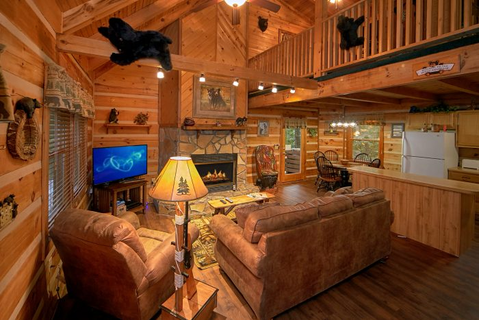 2 Bedroom Cabin with Gas Fireplace - Big Sky View