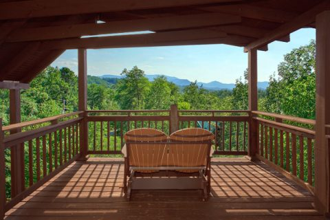 Gatlinburg Cabin with Great Views of the Smokies - Big Sky View