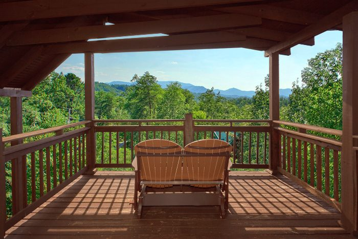 Gatlinburg Cabin with Great Views of the Smokies - Big Sky View