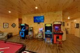 Multiple Arcade Games in Game Room