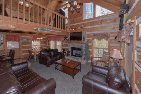 Wears Valley 4 Bedroom Cabin Sleeps 12 - Black Bear