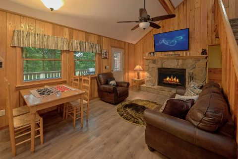 2 Bedroom 2 Bath Cabin Sleeps 8 - Black Bear Hideaway