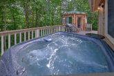Private Hot Tub 2 Bedroom Cabin Sleeps 8