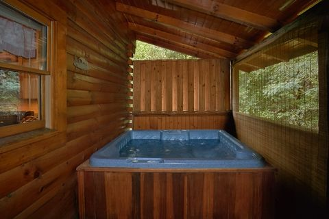 2 Bedroom Cabin with Hot Tub and Resort Pool - Blackberry Inn