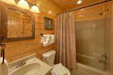 Bathroom with Shower Queen Bedroom
