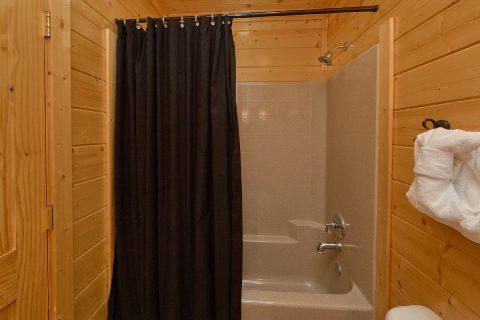 Full Bathroom with Shower - Blue Sky