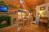 Cabin with dining/kitchen combo area