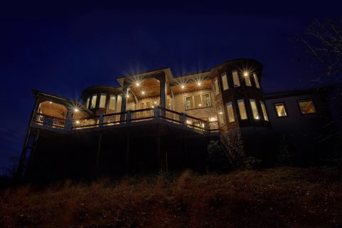 5 Bedroom Luxury Cabin with Mountain Views - Bluff Mountain Lodge
