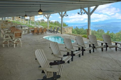 Premium cabin rental with Gorgeous Mountain View - Bluff Mountain Lodge