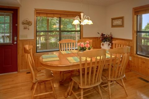Cabin with Dining Area with seating for 8 - Brentwood