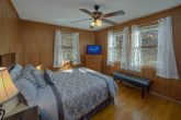 Queen Bedroom with Flatscreen TV