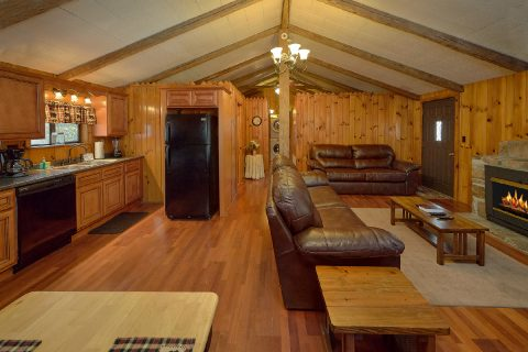 2 Bedroom Cabin in Pigeon Forge Sleeps 4 - Byrd Nest