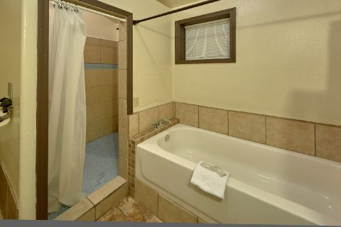 Walk in Shower 2 Bedroom 3 Bath Cabin - Can't Bear To Leave
