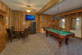 Game Room With Card Table and Pool Table