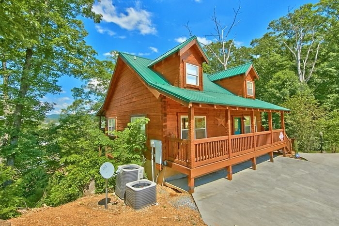 Catch a star 3 bedroom pigeon forge cabin rental with - 7 bedroom cabins in pigeon forge ...