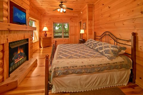 Cabin with 3 King Suites and 3 private baths - Catch A Star