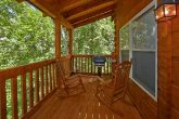 Cabin with Gas grill and wooded view