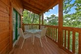 Cabin with 2 covered decks and rocking chairs