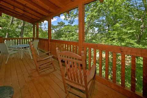 3 bedroom cabin with private deck and view - Catch A Star