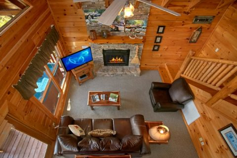2 Bedroom Cabin with Luxurious Living Room - Catch of the Day