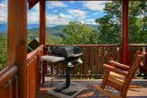 Grill and Rocking Chairs on Main Deck