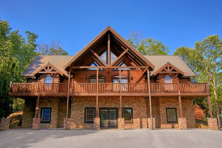 Family Fun Pool Lodge 1: 6 Bedroom Sevierville Cabin Rental