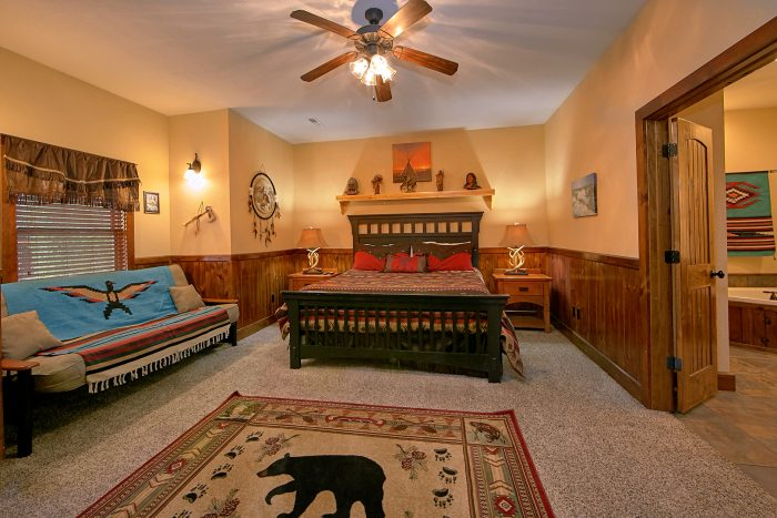 Pigeon Forge Resort Cabin with 5 King Bedrooms - Alpine Mountain Lodge