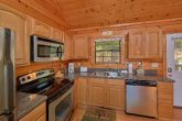 All Stainless Appliance 3 Bedroom Cabin