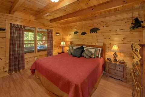 2 Bedroom Cabin with 2 King Beds - Cherokee Creekside