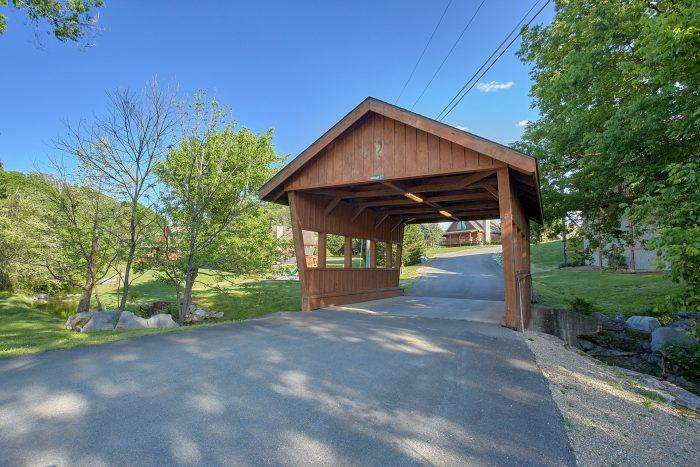 2 Bedroom Cabin in Lone Branch Creek Resort - Cherokee Creekside