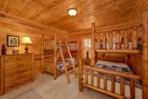 Lower Level Bedroom with Bunk Beds