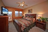 King Bedroom with Access to the Deck and Hot Tub