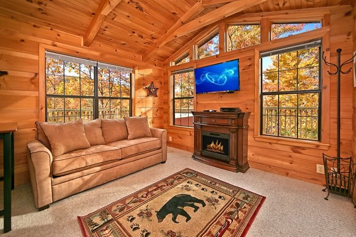 Pigeon Forge Cabin Rental Near Tanger Outlet Mall