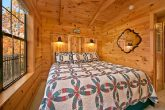 Cabin with Custom King Bed