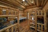 Bunk Bed Room with Games 5 Bedroom Cabin