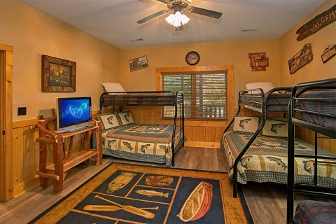 6 Bedroom Cabin with Bunk beds for kids - C'Mon Inn