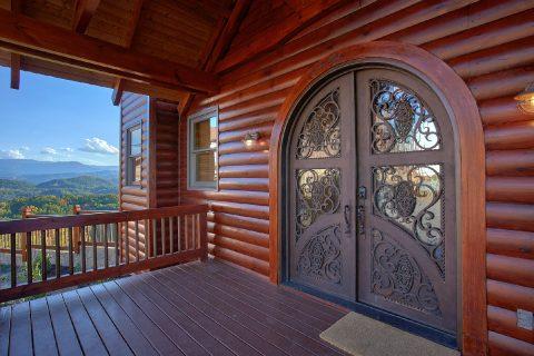 Premium Cabin with Spacious Front Porch - Copper Ridge Lodge