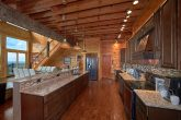 Luxurious Kitchen with Bar and Bench Seating