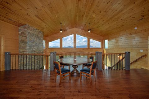 Premium 6 Bedroom Cabin with Loft Game Area - Copper Ridge Lodge