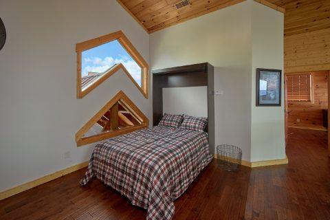 Cabin with Full Size Murphy Bed in Loft Area - Copper Ridge Lodge
