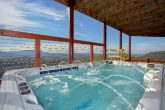 Luxury Cabin with Oversize Hot Tub and Views