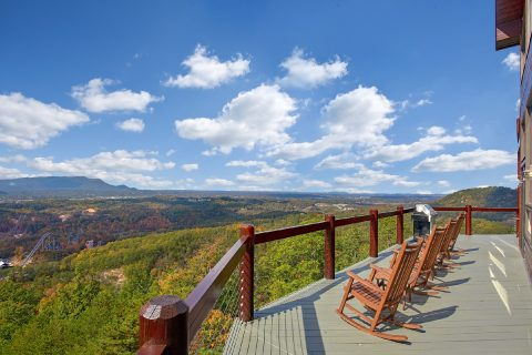 Luxurious Cabin with Views of Dollywood - Copper Ridge Lodge