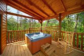 Cabin with Hot Tub on Spacious Deck